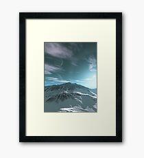 The Mountains of Sirius Beta Framed Print