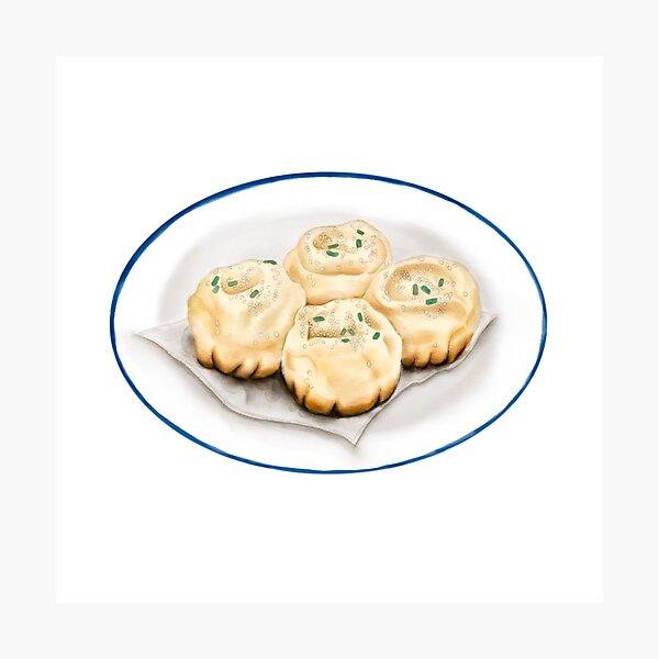 Dim Sum | Pan Fried Dumpling | 生煎 Photographic Print