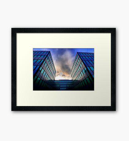 Sigma Sunset Framed Print