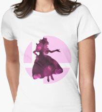 Sm4sh - Peach Women's Fitted T-Shirt