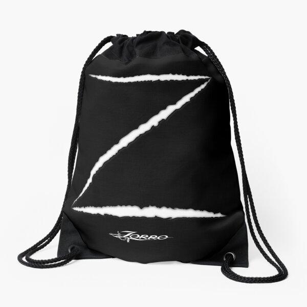 Zorro - Dark Drawstring Bag