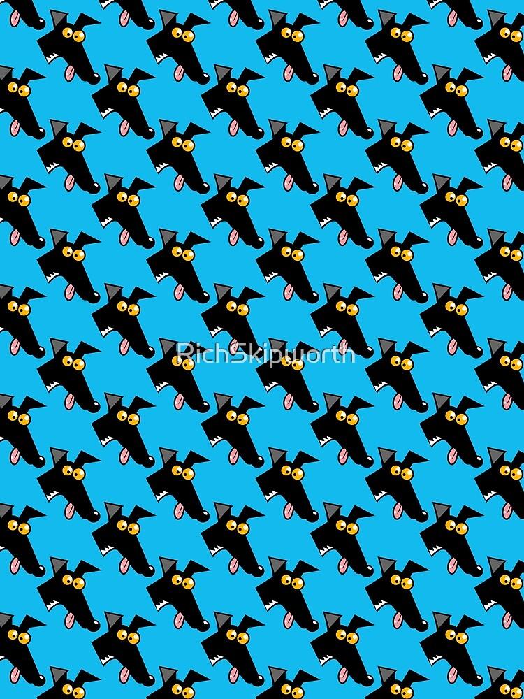 Seamless Derp: Blue by RichSkipworth