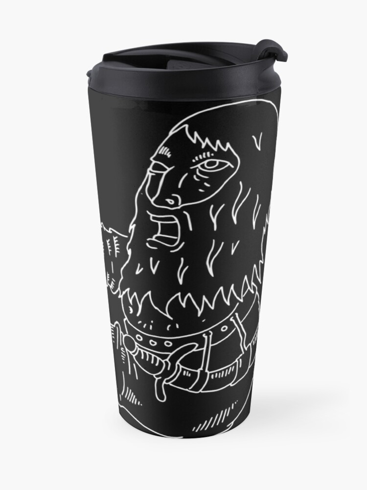 Alternate view of merdragonmagician Travel Mug