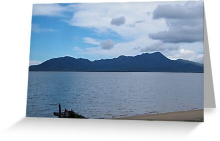 Hinchenbrook Island seen from Cardwell by STHogan