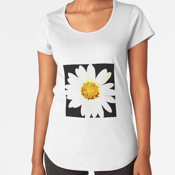 Bright Daisey Premium Scoop T-Shirt