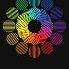 two tone colour wheel by sabrina card