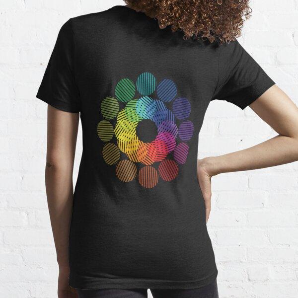 two tone colour wheel Essential T-Shirt