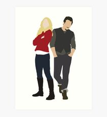 Swanfire - Once Upon a Time Art Print
