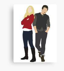 Swanfire - Once Upon a Time Canvas Print