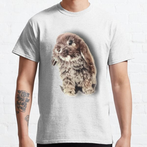 3D adorable bunny painting Classic T-Shirt