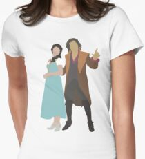 Rumbelle - Once Upon a Time Women's Fitted T-Shirt