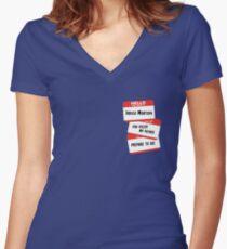 Indigo Montoya Women's Fitted V-Neck T-Shirt