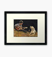 Sing Along Framed Print