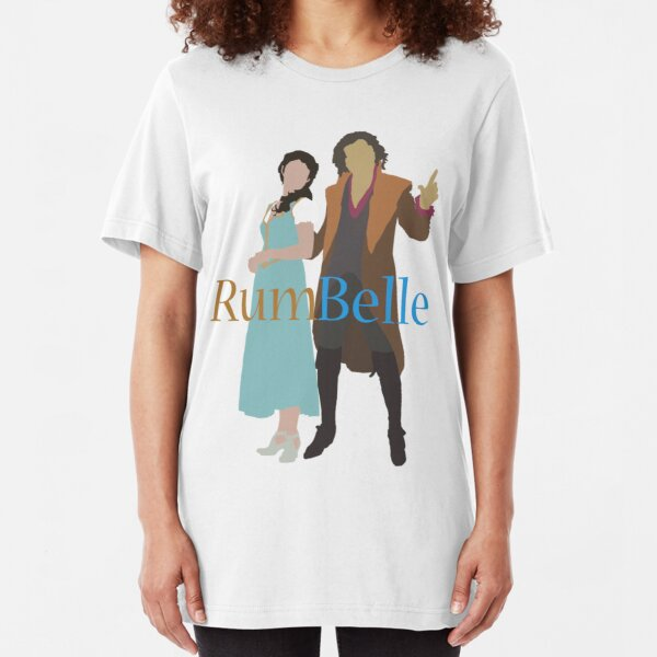 Rumbelle - Once Upon a Time Slim Fit T-Shirt