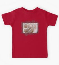 Long-Stemmed White Rose Kids Tee