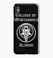 College of Winterhold Alumni iPhone Case/Skin