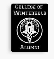 College of Winterhold Alumni Canvas Print