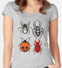 Spooky Entomology Fitted Scoop T-Shirt
