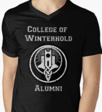 College of Winterhold Alumni Men's V-Neck T-Shirt