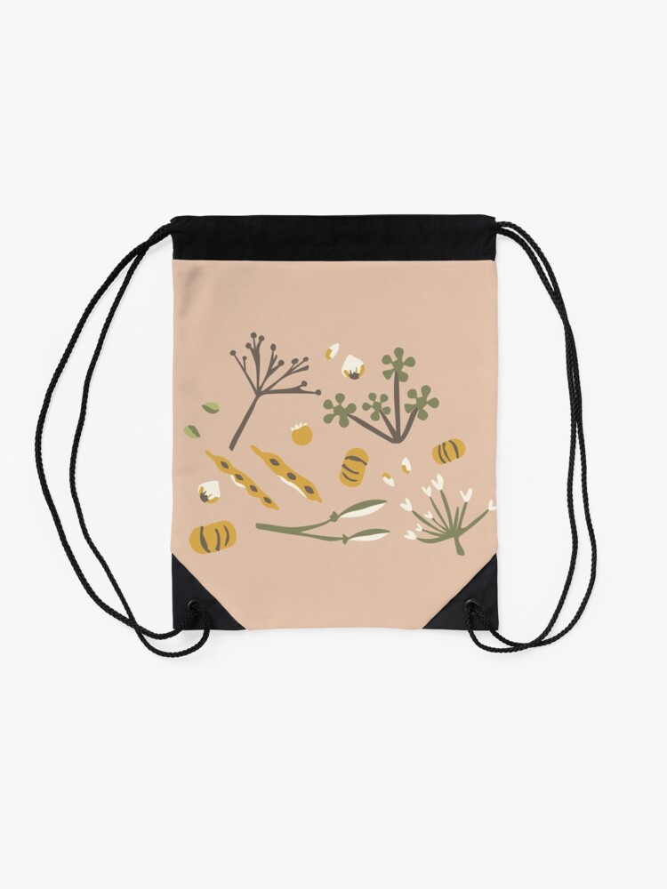 Alternate view of Autumn Drawstring Bag