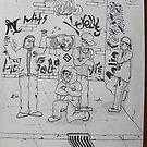 Strangers in the Alley by Sitzroyclark