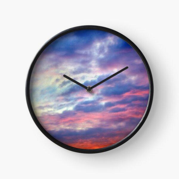 Burning Sky Clock