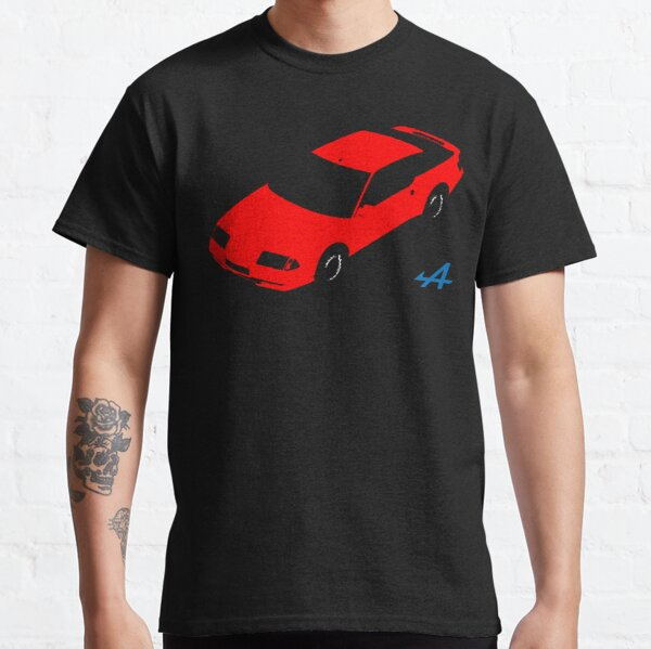 RENAULT ALPINE GTA (ROUGE) T-shirt classique