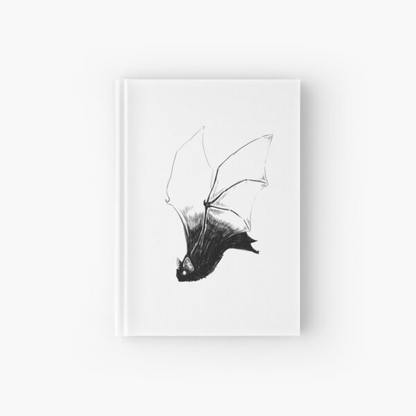 Vampire Bat Hardcover Journal