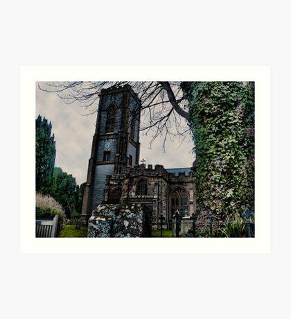 St Andrews Church, Curry Rivel, Somerset Art Print