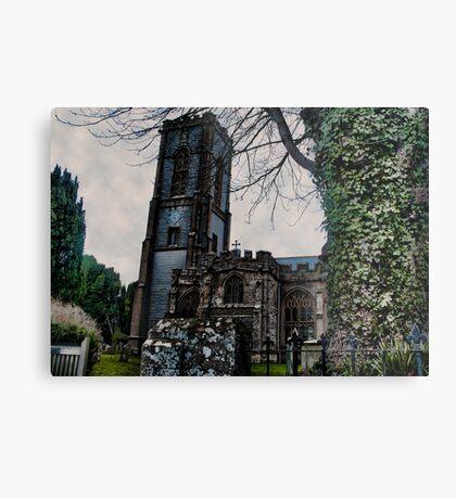 St Andrews Church, Curry Rivel, Somerset Metal Print