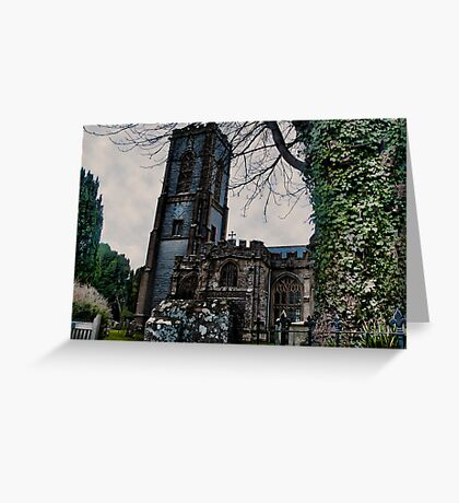 St Andrews Church, Curry Rivel, Somerset Greeting Card