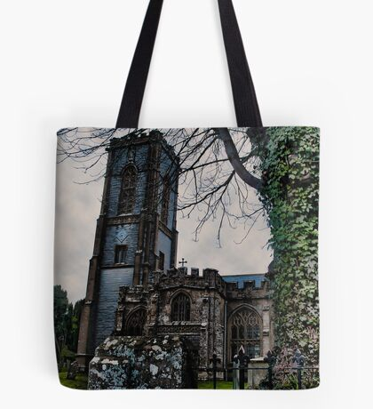 St Andrews Church, Curry Rivel, Somerset Tote Bag