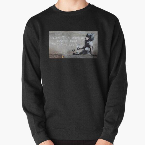 Banksy at Extinction Rebellion Pullover Sweatshirt