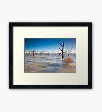 Lake Menindee 001 Framed Print