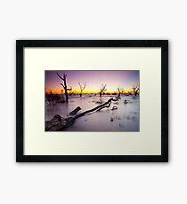 Lake Menindee 003 Framed Print