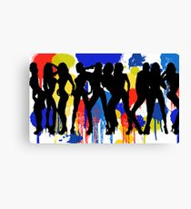 Girls, Girls, Girls Canvas Print