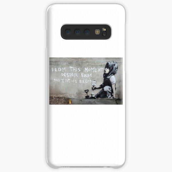 Banksy at Extinction Rebellion Samsung Galaxy Snap Case