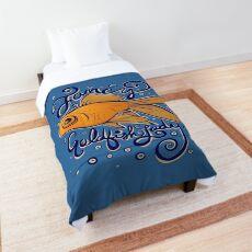 Fancy Goldfish Lady Comforter