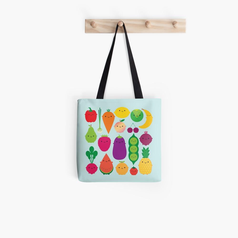 5 A Day Fruit & Vegetables Tote Bag