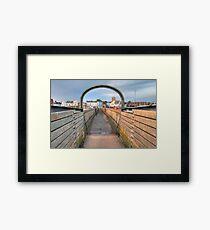Bridge over Adur I Framed Print