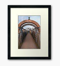 Bridge over Adur II Framed Print