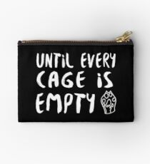 Until Every Cage Is Empty • MFC Studio Pouch