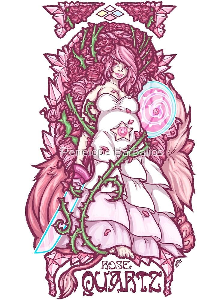 Rose Quartz Nouveau by Penelope Barbalios