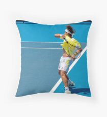 Ferrer forehand Throw Pillow