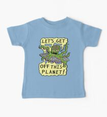 Alien UFO Escape Baby Tee