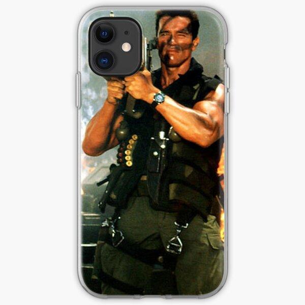 Schwarzenegger Rocket Launcher Case iPhone Soft Case