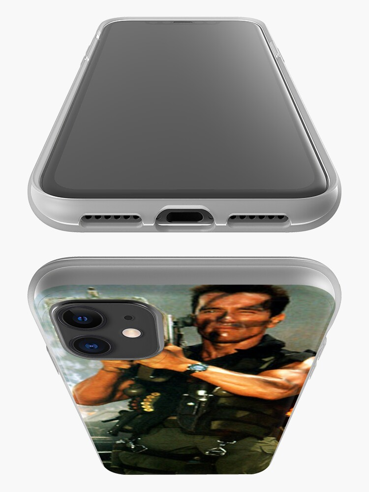 Alternate view of Schwarzenegger Rocket Launcher Case iPhone Case & Cover
