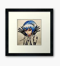 Ayanami Rei Framed Print