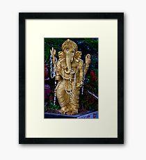 Lord Ganesh, The Elephant God Framed Print