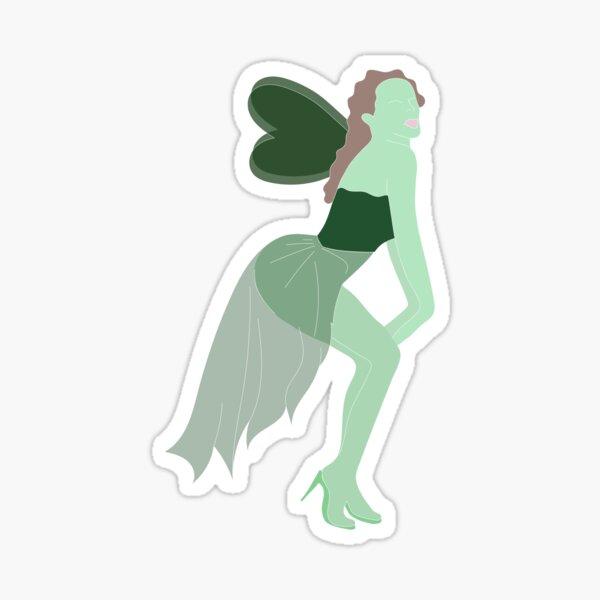 Hada verde Pegatina